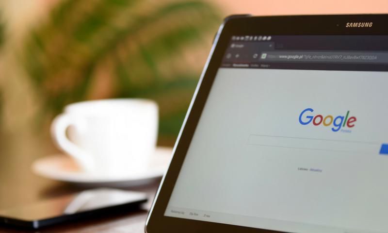 missing website in google