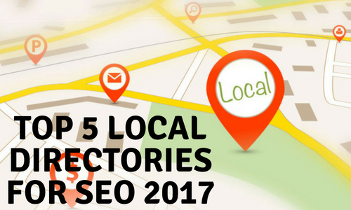 top 5 local seo directories for 2017