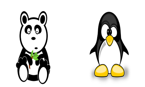 panda and penguin google