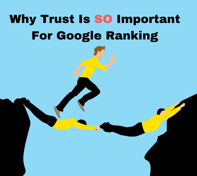 Trust signals and Google Ranking
